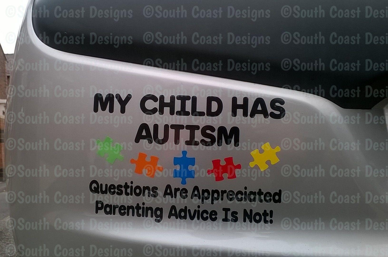 my child has autism